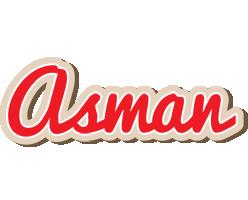 Asman chocolate logo