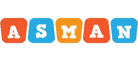 Asman comics logo