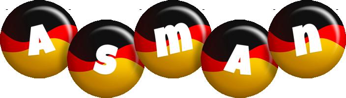 Asman german logo