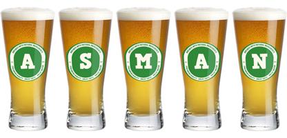 Asman lager logo