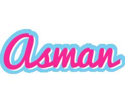 Asman popstar logo