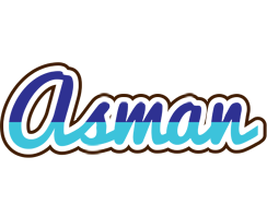 Asman raining logo