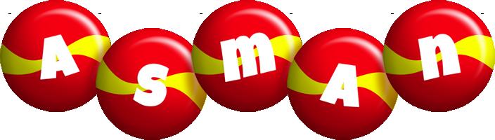 Asman spain logo
