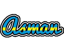 Asman sweden logo