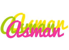 Asman sweets logo