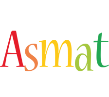 Asmat birthday logo