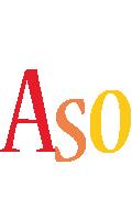 Aso birthday logo