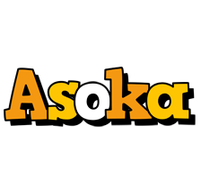 Asoka cartoon logo
