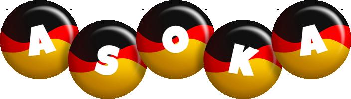 Asoka german logo