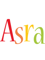 Asra birthday logo