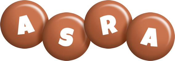 Asra candy-brown logo