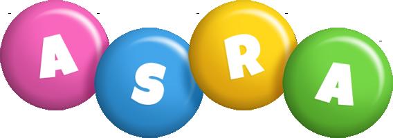 Asra candy logo
