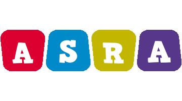 Asra daycare logo