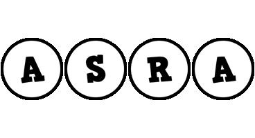 Asra handy logo