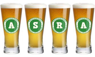 Asra lager logo
