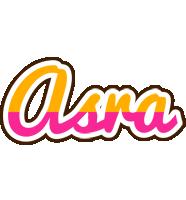 Asra smoothie logo