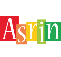 Asrin colors logo