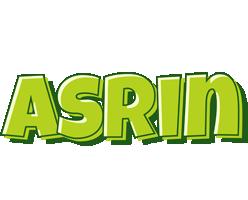 Asrin summer logo