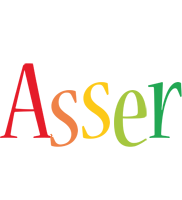 Asser birthday logo