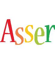 Asser birthday logo