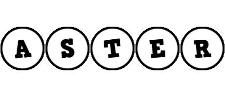 Aster handy logo