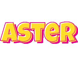 Aster kaboom logo