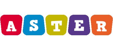 Aster kiddo logo