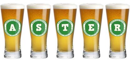 Aster lager logo