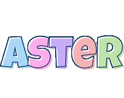 Aster pastel logo