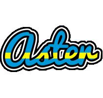 Aster sweden logo