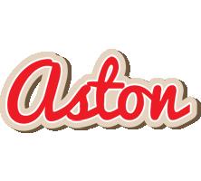 Aston chocolate logo