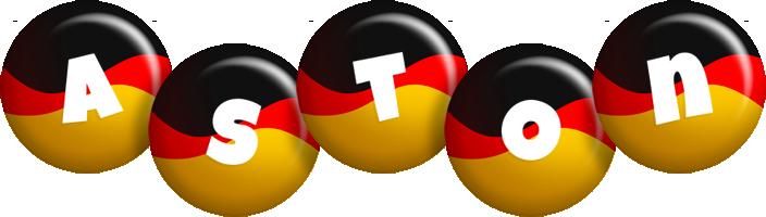 Aston german logo
