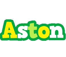 Aston soccer logo