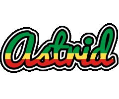 Astrid african logo