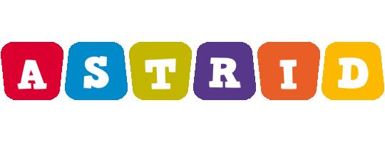 Astrid daycare logo