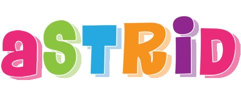 Astrid friday logo
