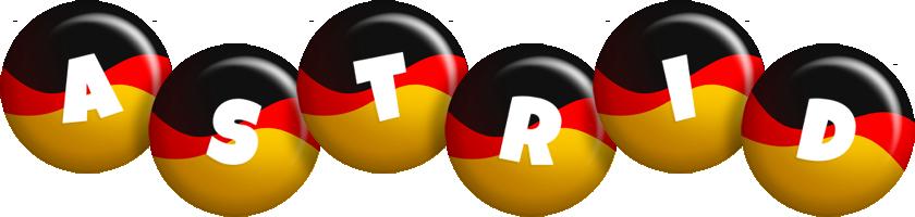 Astrid german logo