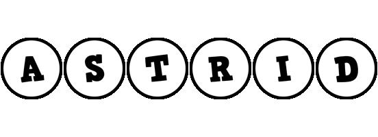 Astrid handy logo