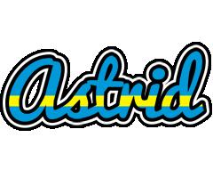 Astrid sweden logo