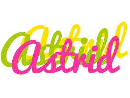 Astrid sweets logo
