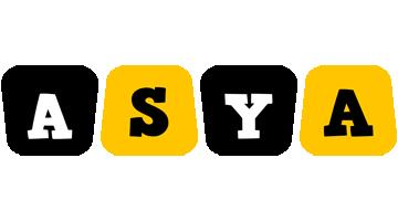 Asya boots logo