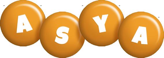 Asya candy-orange logo