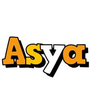 Asya cartoon logo