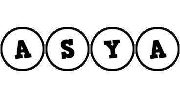 Asya handy logo