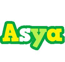 Asya soccer logo