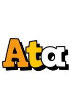 Ata cartoon logo