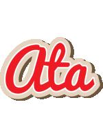 Ata chocolate logo
