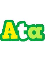 Ata soccer logo