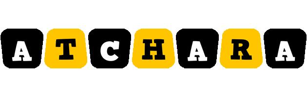 Atchara boots logo