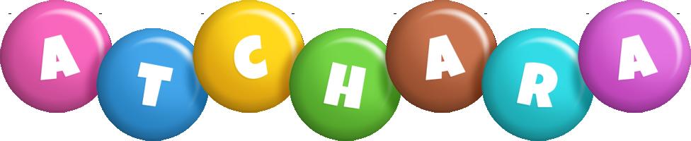 Atchara candy logo